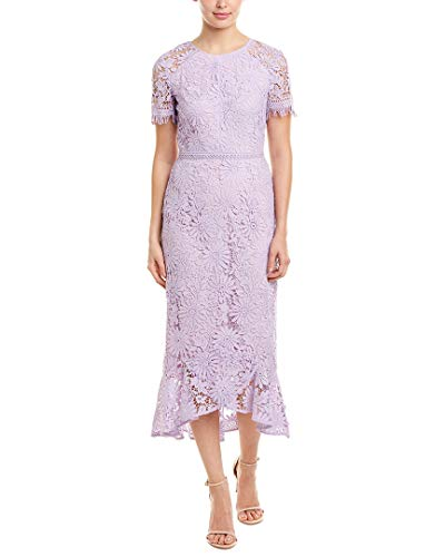 Shoshanna Women's Edgecombe Dress, Lavender, 0