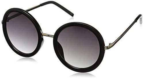 Foster Grant Women's Tyra Round Sunglasses, Black, 53.8 - Round Sunglasses Amazon