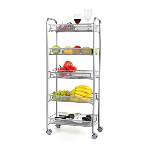 Top 5 Best kitchen storage rolling cart for sale 2017