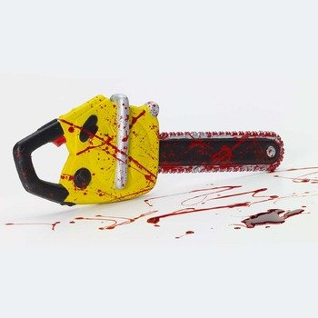Forum Novelties Party Supplies 72872 Chainsaw, Multicolor, Small 18