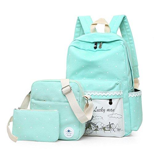 FOLLOWUS - Bolso mochila  para mujer, morado (morado) - G72399B verde