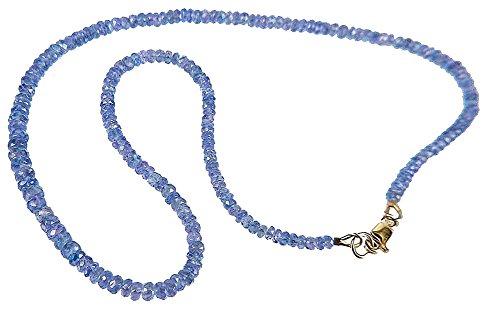 Tanzanite Necklace Graduated F