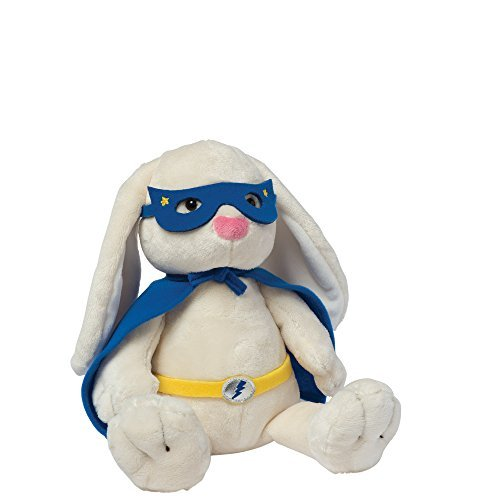 Manhattan Toy Superhero Bunny Plush Toy (Manhattan Toy Stuffed Plush)