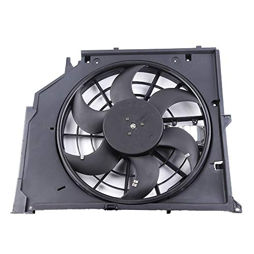 SCITOO Radiator Condenser Cooling Fan Engine Assembly Compatible with 1999 2001 2002 2003 2004 2005 BMW 323i 328i 320i 323i 325Ci 325i 325xi 330Ci 330i 330xi ()