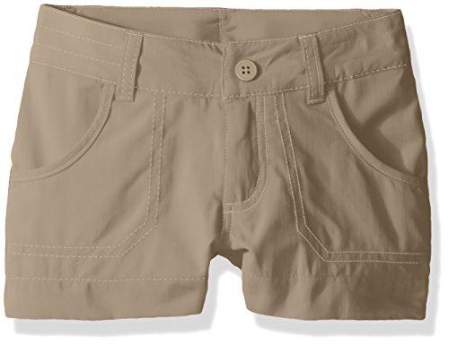 Columbia Girls Silver Ridge III Shorts, British Tan, Medium