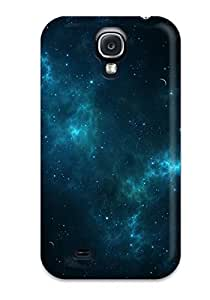 Galaxy S4 FjGaHkB3877ZDPur Outer Space Tpu Silicone Gel Case Cover. Fits Galaxy S4