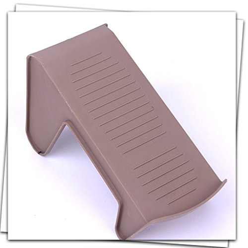 LIZHIQIANG 10 Loaded Shoe Bracket Plastic Economy One-piece Shoe Rack Simple Home Simple Modern Dormitory Dormitory Shoes Storage ( Color : Brown ()