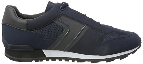 Runn Homme Tech BOSS Sneakers Parkour Dark Basses Bleu Blue Hugo 44cSpf