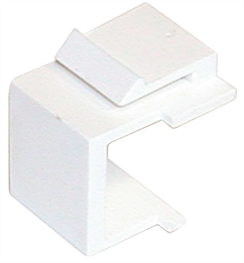 PREFERRED INDUSTRIES MS100-WH Low Voltage Lighting Blank Insert Neck Complaint White