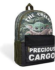 The Mandalorian rugzak kinderen, schoolrugzak jongens, baby Yoda kinderrugzak jongens, Grogu The Child