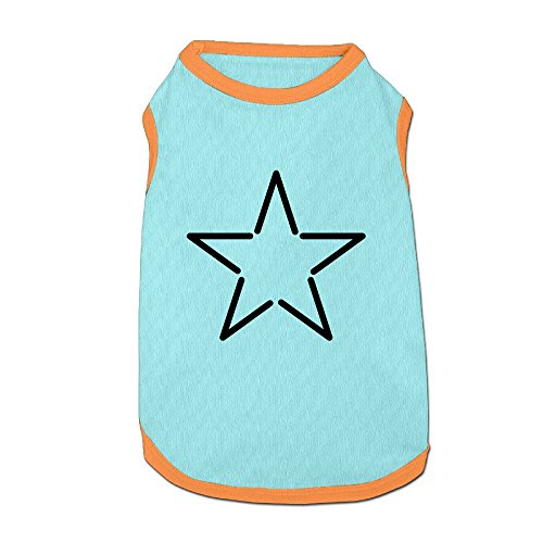 Dog T-Shirt Clothes Star Doggy Puppy Tank Top Pet Cat Coats Outfit Jumpsuit -