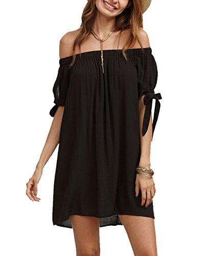 SheIn Womens Shoulder Shift Dress product image