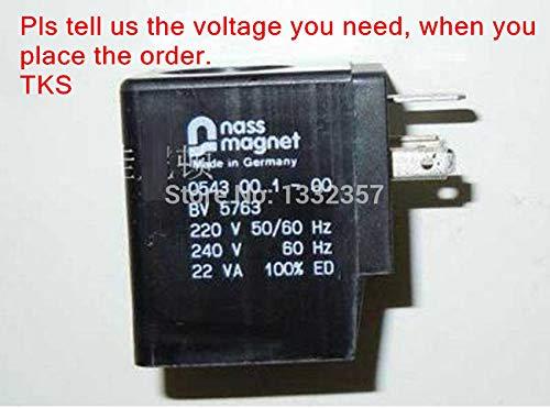 Fevas 2pcs NASS Solenoid Coil, NASS Magnet 054300.1-00 BV5763,NASS Brand