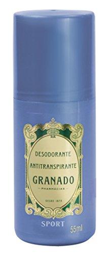 (Linha Antisseptica Granado - Desodorante Antitranspirante Roll On Sport 55 ML - (Granado Antiseptic Collection - Anti-Perspirant Roll-On Deodorant Sport 1.8 Fl Oz))