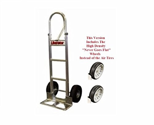 "Used, Modular Aluminum Hand Truck w 18"" Nose Plate and Non for sale  Delivered anywhere in USA"