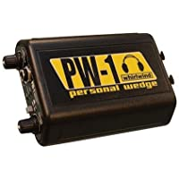 Whirlwind PW-1 Personal Wedge Headphone Driver for In-Ear Monitoring Systems