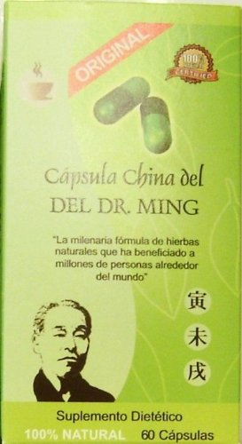 DR MING CAPSULES MINCEUR CHINOISES  60 CAPS