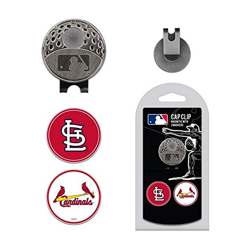 - Team Golf MLB St. Louis Cardinals Hat Clip with 2 Ball Markers