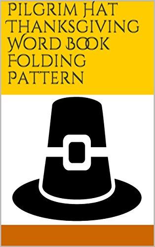 (Pilgrim Hat Thanksgiving Word Book Folding)