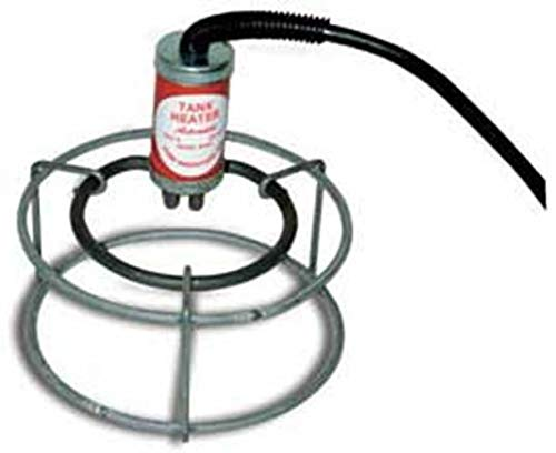 - Farm Innovators Model W-449 Submergible Bucket Heater with Attached Guard, 1,000-Watt