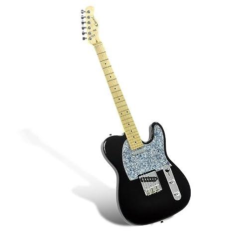 Gecko ge-263 TL - Guitarra eléctrica/Micro Simple/Pickup Tipo T/22 diapasón: Amazon.es: Instrumentos musicales