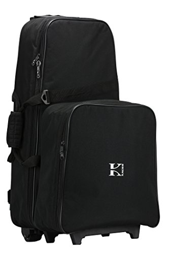 Kaces KCK-W1 Snare/Bell Kit Duo Case With Wheels (W1 Kit)