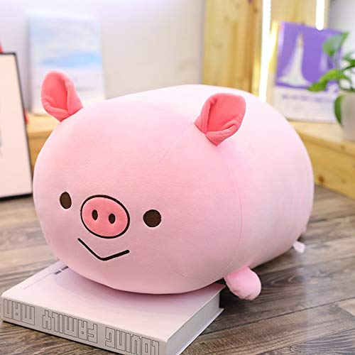 GOONEE Stuffed Animal - Piggy Plush Toy Cute Pig Stuffed Animal Chicken Doll Soft Inu Pillows Baby Kids Birthday Gift - 24 Inch Pig - Guinea Bellied Realistic Little Red Fat Tiny Small Pot