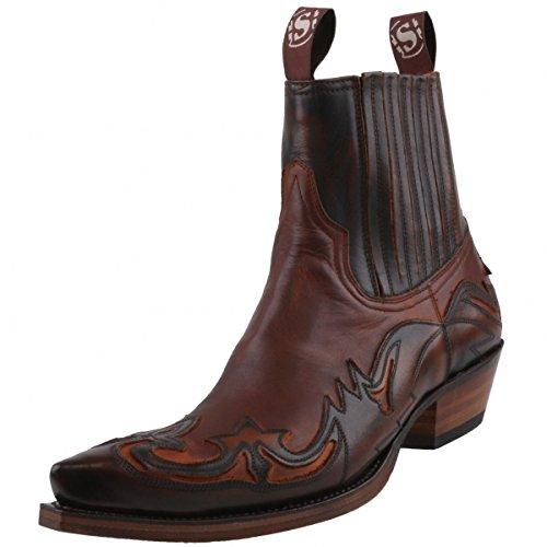 Sendra Boots - Botas de cuero para hombre marrón Braun (hell/dunkelbraun) marrón - Braun (hell/dunkelbraun)