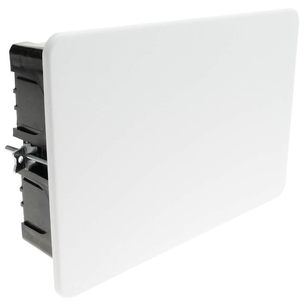 BeMatik - Einbaudose rechteckig elektrisches Register 155x100x48mm fü r Hohle Wä nde BeMatik.com
