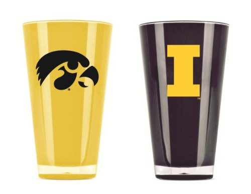Iowa Hawkeyes Official NCAA 20 fl. oz. Tumbler Cup Set by Duck House