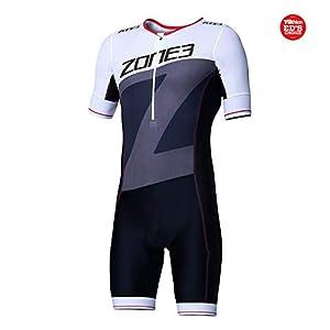 Zone3 Men's Lava Long Distance Short Sleeve Aero Tri Suit