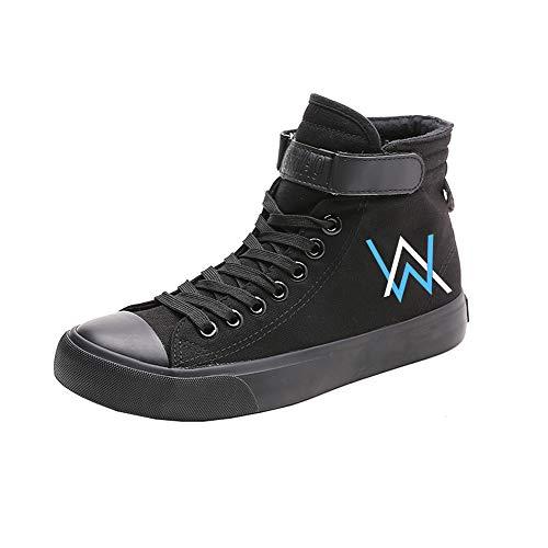 Lacets Chaussures Hautes Pour Toile Et Ultra Hommes Espadrilles Walker Black07 respirant Amant Moda À Alan Décontractée Femmes Baskets 4q1CFawyxB
