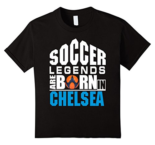 Are Born in Chelsea- Cute Gift Shirt 4 Black (Chelsea Legend)