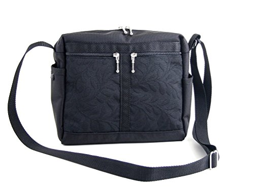 Handmade Fabric Handbags - Crossbody Messenger Purse by GreatBags   Womens Fabric & Nylon Handbag - Lightweight & WaterResistant - Made in the USA