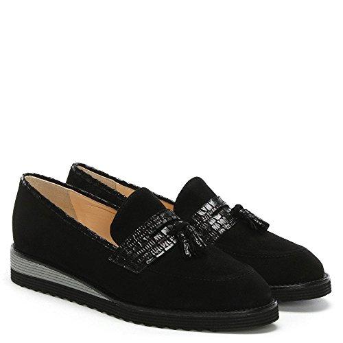 Tassel Loafers Black Suede Suede Narlah Daniel Black wnqpBxOtB8