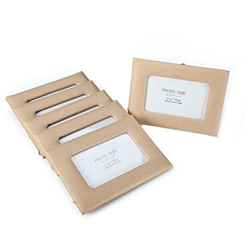 Darice 1166-57B 5X7 Paper Mache Frame Rect Bulk, 5