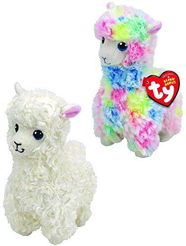 Ty Beanie LILY & LOLA - 2 pc llama set (Baby Lola)