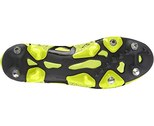 Scarpe Da Calcio Da Uomo Adidas X 15.1 Sg In Pelle Giallo Nero B26973