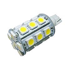 GRV T10 921 194 Wedge 24-5050 SMD LED Bulb lamp Super Bright Warm White AC/DC 12V ~28V Pack of 2