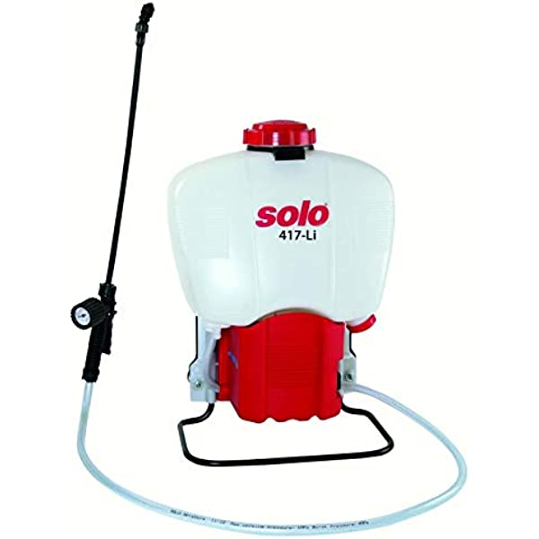 Solo 417 Li Battery Powered Backpack Sprayer 11 V Rechargeable Garden Outdoor Amazon Com