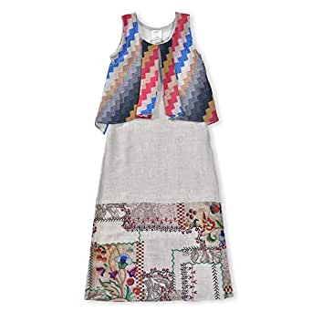 Le-Crystal Girls Kurti, Multi