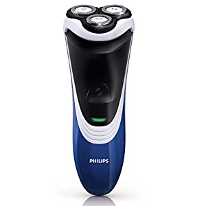 Philips Norelco Electric Cord/Corless Razor, with CloseCut Shaving System and Flexing Heads, Battery Light and Charging Indicator, Protective Cap, Power Cord, Cleaning BrushIncluded