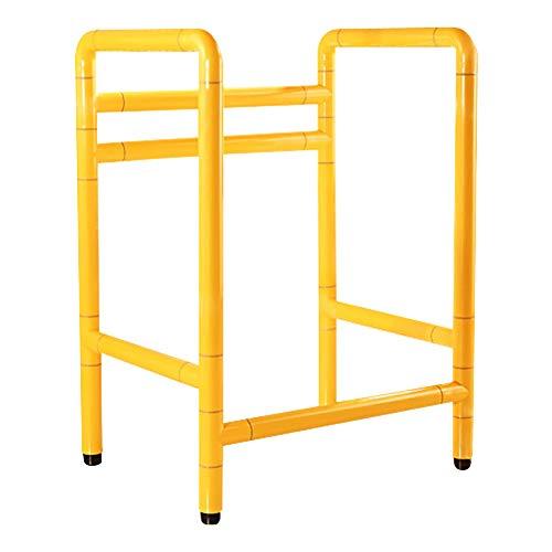SUN RNPP Inodoros Baño mobiclinic WC rieles 304 de Acero Inoxidable,Nylon, fácil de Instalar,para discapacitados y...