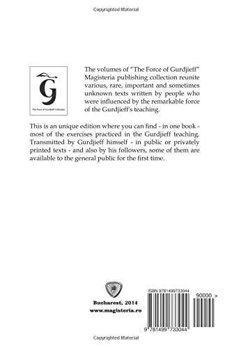Buy The Force of Gurdjieff: Exercises: 4 Book Online at Low