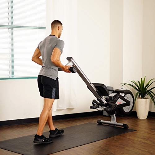 Sunny Health & Fitness SF-RW5623 Air Rowing Machine Rower w/ LCD Monitor by Sunny Health & Fitness (Image #17)