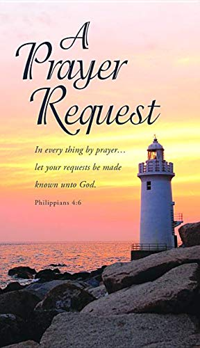 (Prayer Request Card (Pack of 50))