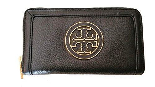 Zip Around Long Wallet (Black) - 2