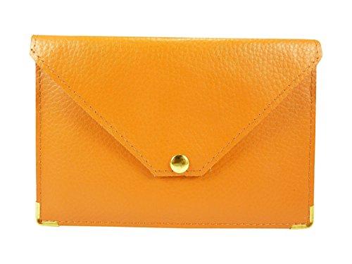 Porte permis Voiture Orange Papier Pochette Etui Bleu Carte Carte Grise qtccPB7w