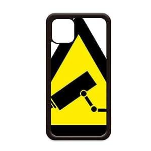 Amazon.com: Warning Symbol Yellow Black Monitor Camera