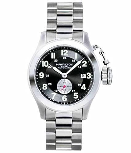 outlet store 9a643 9cbea Amazon | ハミルトンメンズカーキFrogman Watch # h77415133 ...
